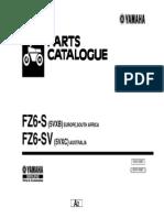 Manual Despiece Yamaha FZ6 (Ingles)