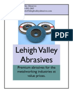 Lehigh Valley Abrasives Product Catalog