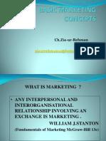Basic Concepts of Marketing Iba