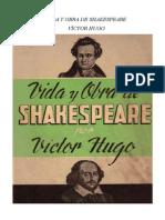 Hugo Victor - Vida Y Obra de Shakespeare