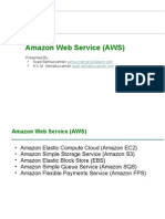 Amazon Web Services practices in Code71