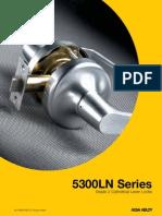 Yale Locks 5300LN Series Electric Lever Cylinder Locks