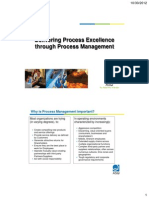 ASQ 2012 Delivering Process Excellence Through Process Management
