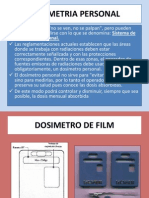 Dosimetria Personal