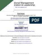 Educational Management Administration & Leadership 1999 Walford 209 10