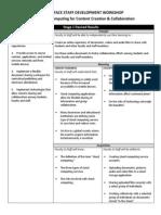 Staff Development Lesson Plan - Tarena Ruff