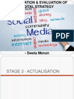 Actualisation & Evaluation Of
