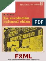 La Revolución Cultural China - K. H. Fan [FRML]