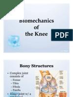 Bio Mechanics of the Knee