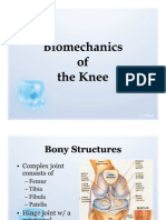 Bio Mechanics of the Knee