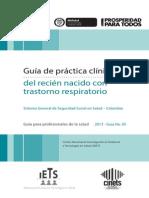 Guia Profesionales Trastorno Respiratorio Julio17