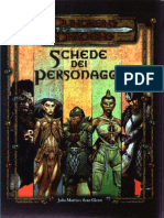 [E-Book - ITA] - Dungeons and Dragons 3.0 - Schede Ufficiali Dei Personaggi