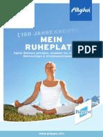 Allgäu Reiseführer Wellnessurlaub, empfohlen von Reiseführer-Buchhandlung Reise.BuchOn