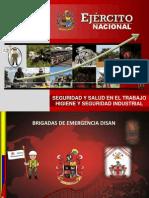Capacitacion Brigadas de Emergencia