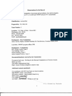 T5 B61 Condor Fdr- 6-3-03 Memo Re Briefing- Non Immigration Visa Process- 5 Pgs 221