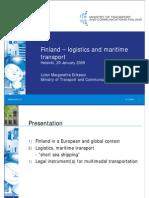 LolanEriksson Finland Logisticsandmaritimetransport