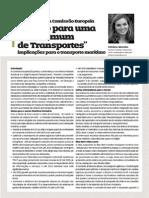 """Livro Branco da Comissão Europeia """"Roteiro para uma Área Comum de Transportes"""""""
