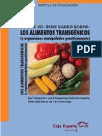 1 Los Alimentos Transgenicos