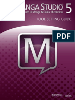 MangaStudio 5.0.2 Tool Setting Guide