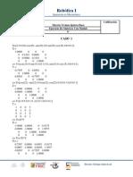 Ejercicio de Matrices Con Matlab