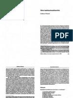 Guillermo O'Donnell - Otra institucionalización - Contrapuntos - Cap. 11