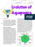 Evoluton of Aquaponics NoPW