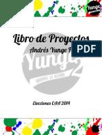 Libro de Proyectos Yunge 2014