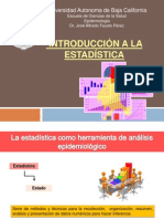 Introduccion a La Estadistica (epidemiologia)