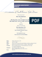SBAA Dinner Invite