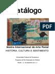 Catálogo da Mostra Internacional de Arte Postal