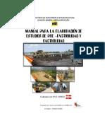 Manual Estudio de Pre-Factibilidad y Factibilidad 01295 CON-N