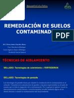 Remediación de suelos contaminados