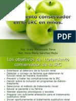 Tratamiento conservador en la IRC niños.ppp