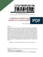 Perelman - La historia secreta de la acumulación primitiva