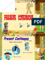 Present-continuous POWER POINT