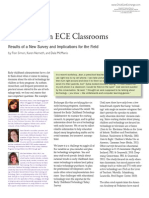 Technology in ECE Classrooms Results of a New Survey and Implications for the Field