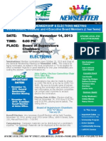 Local 2703 Newsletter Elections 11-14-13