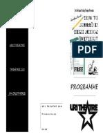 Theatre 100 Program