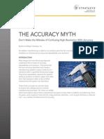 Stratasys the Accuracy Myth