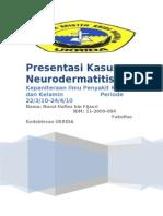 NEURODERMATITIS
