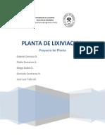 Planta Lixiviacion