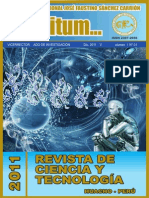 Revista Infinitum Vol. 1 N° 01 - 2011