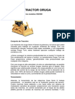 Tractor Oruga Caracteristicas