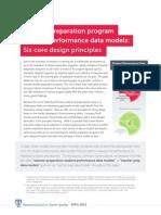 Teacher Preparation Program Student Performance Data Models NCTQ Report