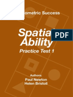 Psychometric Success Spatial Ability - Practice Test 1