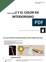 La Luz y El Color en Interiorismo