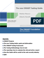 OWASP Testing Guidev2 (EUSecWest) v1.ppt