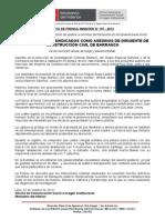 POLICÍA DETIENE A SINDICADOS COMO ASESINOS DE DIRIGENTE DE CONSTRUCCIÓN CIVIL DE BARRANCA