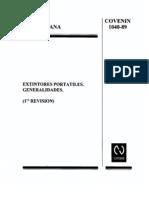 1040-89 EXTINTORES PORTATILES