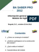 Charla Informativa Modulo de Ingles